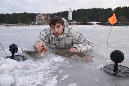 Рыбалка на жерлицы